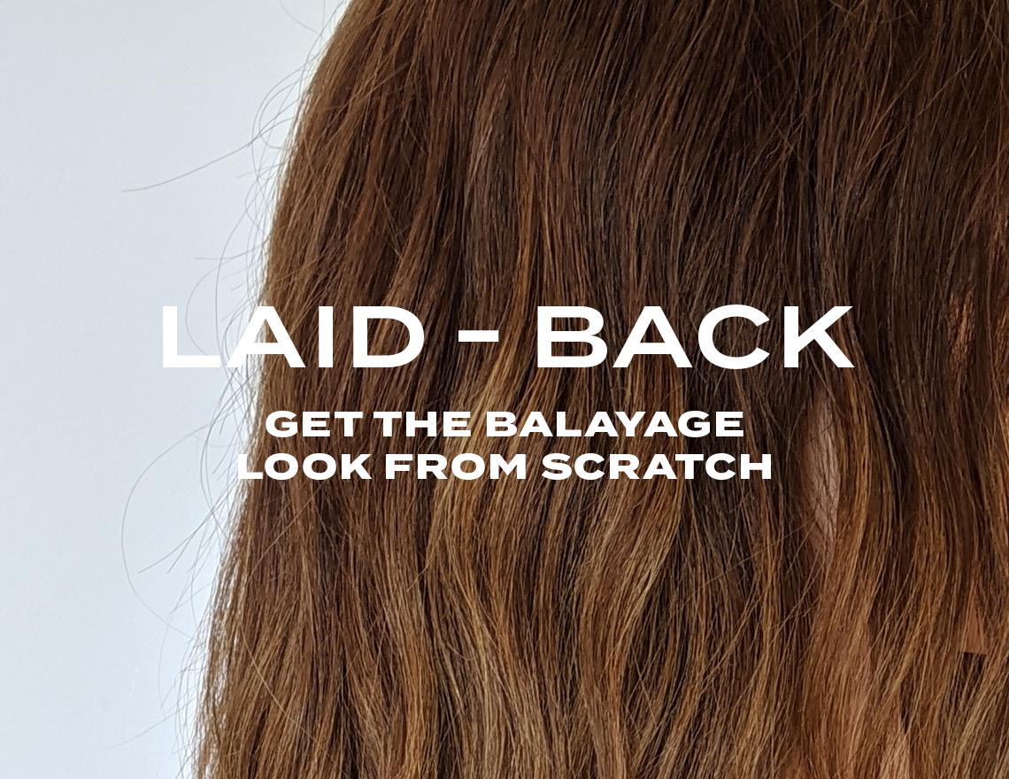 Laid Back Balayage  image